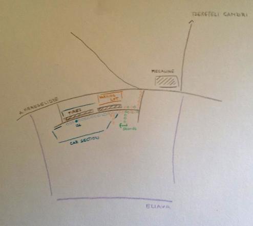 კატარინა შტადლერის რუკა დაგეხმარებათ ხელოვნების სამუშაო სივრცის პოვნაში